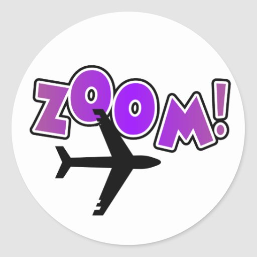 Camisetas y regalos del aeroplano del enfoque pegatina redonda
