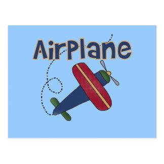 Camisetas y regalos del aeroplano tarjeta postal