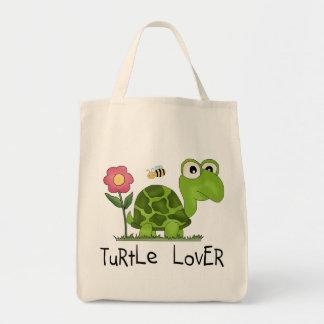 Camisetas y regalos del amante de la tortuga bolsas
