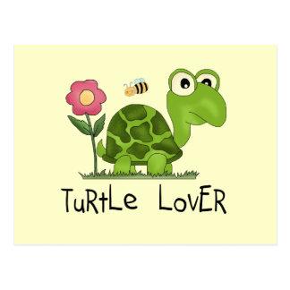 Camisetas y regalos del amante de la tortuga postal