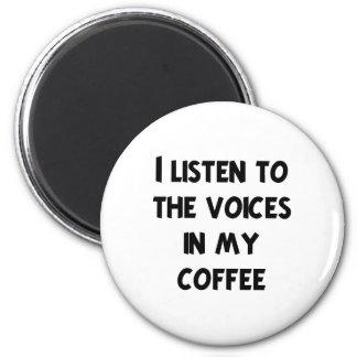Camisetas y regalos del amante del café imán redondo 5 cm