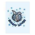 Camisetas y regalos del amante del conejito tarjeta postal