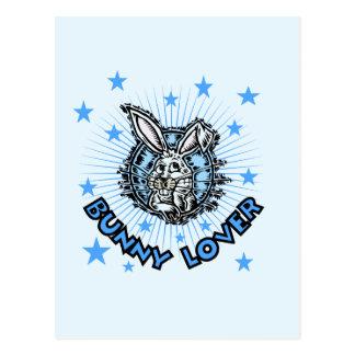 Camisetas y regalos del amante del conejito tarjetas postales