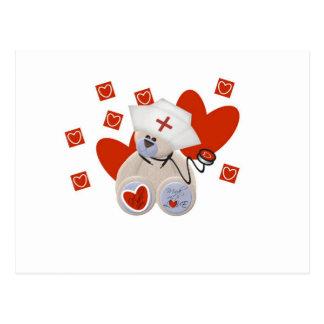 Camisetas y regalos del amor de la enfermera del o tarjetas postales