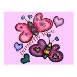Camisetas y regalos del amor de la mariposa para e postales