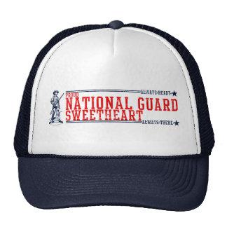 Camisetas y regalos del amor del Guardia Nacional Gorras De Camionero
