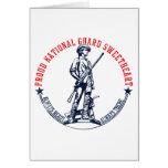 Camisetas y regalos del amor del Guardia Nacional Tarjeton