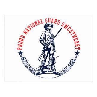 Camisetas y regalos del amor del Guardia Nacional Tarjetas Postales