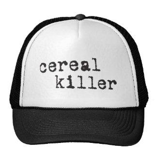 Camisetas y regalos del asesino del cereal gorro de camionero