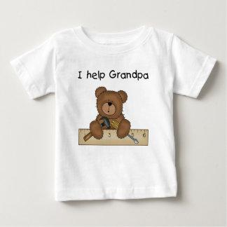 Camisetas y regalos del ayudante del abuelo del playera