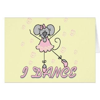 Camisetas y regalos del ballet del ratón felicitación