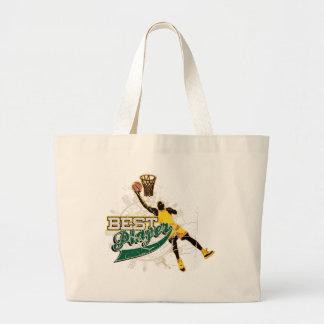Camisetas y regalos del baloncesto bolsas