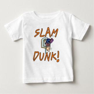 Camisetas y regalos del baloncesto de la clavada camisas