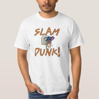 Camisetas y regalos del baloncesto de la clavada playeras