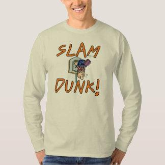 Camisetas y regalos del baloncesto de la clavada remera