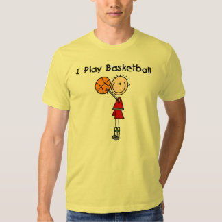 Camisetas y regalos del baloncesto del juego del m playeras