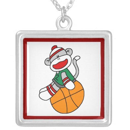 Camisetas y regalos del baloncesto del mono del ca joyeria personalizada