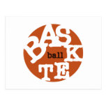 Camisetas y regalos del baloncesto postal