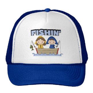 Camisetas y regalos del barco de Fishin Gorro De Camionero