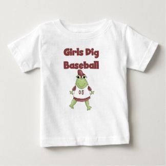 Camisetas y regalos del béisbol del empuje de los playeras