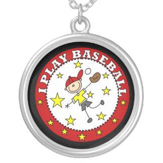 Camisetas y regalos del béisbol del juego del collar