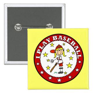 Camisetas y regalos del béisbol del juego del pin