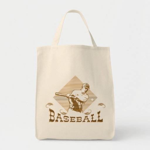 Camisetas y regalos del béisbol del viejo estilo bolsas de mano