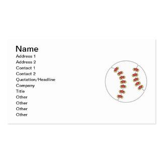 Camisetas y regalos del béisbol tarjetas personales