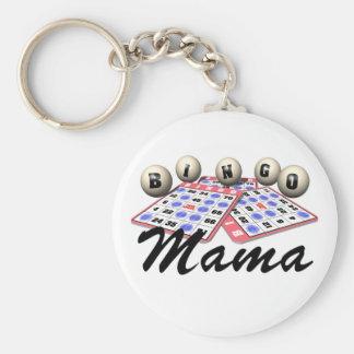 Camisetas y regalos del bingo llavero personalizado