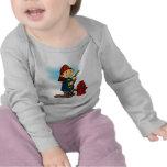 Camisetas y regalos del bombero de los niños