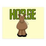 Camisetas y regalos del caballo postal