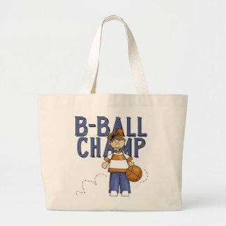 Camisetas y regalos del campeón de BBall Bolsa De Mano
