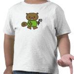 Camisetas y regalos del castor de los niños
