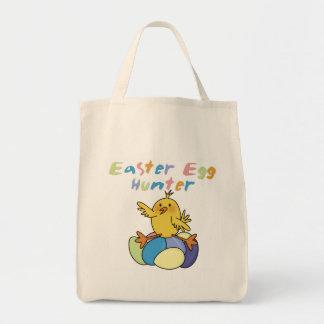 Camisetas y regalos del cazador del huevo de bolsa tela para la compra