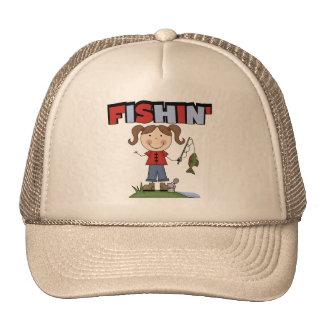 Camisetas y regalos del chica de Fishin Gorro De Camionero