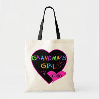 Camisetas y regalos del chica de la abuela del cor bolsa de mano