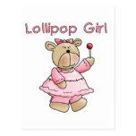 Camisetas y regalos del chica del Lollipop Postales
