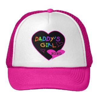 Camisetas y regalos del chica del papá del corazón gorro