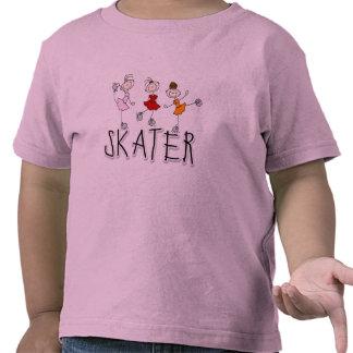Camisetas y regalos del chica del patinador