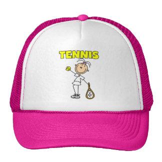 Camisetas y regalos del chica del TENIS Gorros