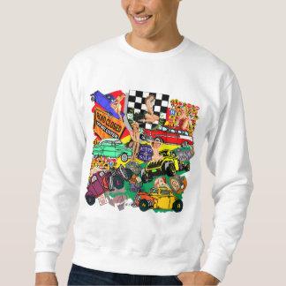 Camisetas y regalos del coche de carreras del sudadera con capucha