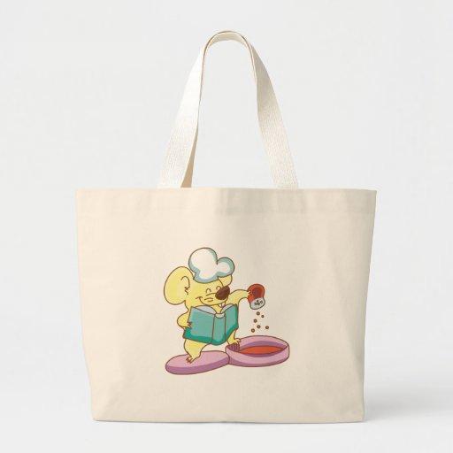 Camisetas y regalos del cocinero del ratón bolsa