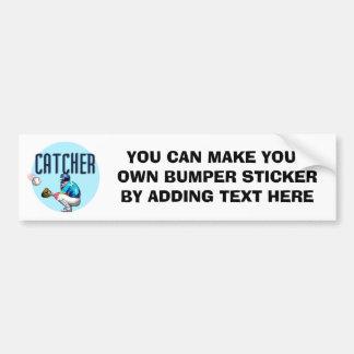 Camisetas y regalos del colector del béisbol pegatina para auto