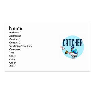 Camisetas y regalos del colector del béisbol plantilla de tarjeta personal