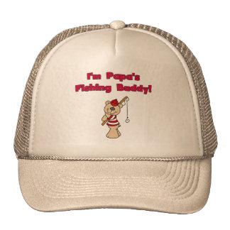 Camisetas y regalos del compinche de la pesca de l gorras de camionero