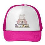 Camisetas y regalos del conejito de pascua gorras de camionero