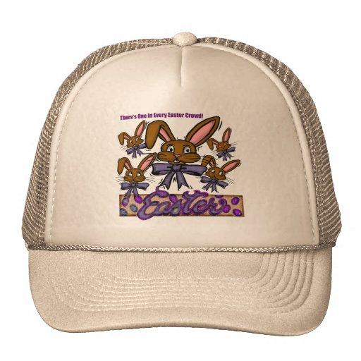Camisetas y regalos del conejito de pascua gorras