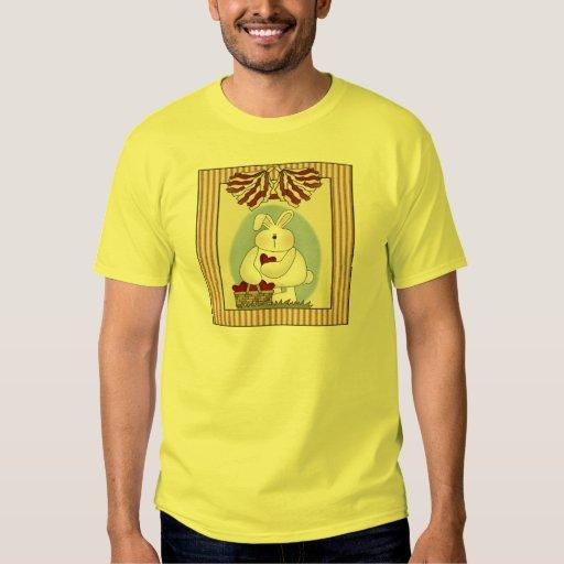 Camisetas y regalos del conejito de pascua polera