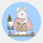Camisetas y regalos del conejo de conejito de los  pegatina