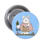 Camisetas y regalos del conejo de conejito de los  pin